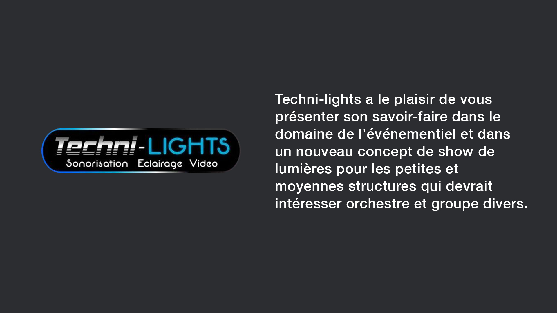 SLIDE - techni lights